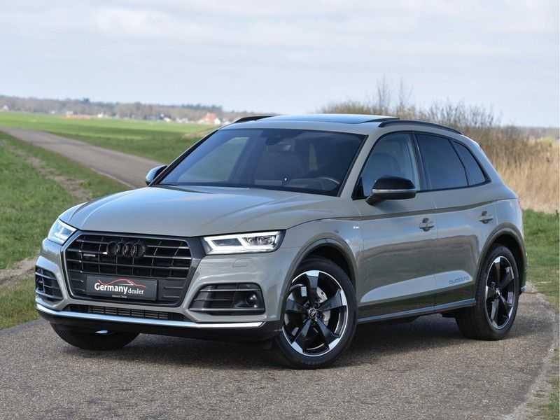Audi Q5 2.0TFSI 252pk Quattro Black Optic Alle Opties! Lucht Tr.Haak Ruitleder Carbon Matrix Pano 20-Inch afbeelding 17
