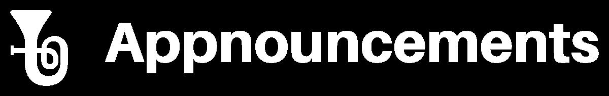 AppnouncementsCompany Logo