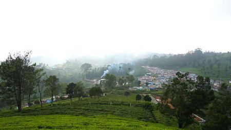 Bellatimuttam village view