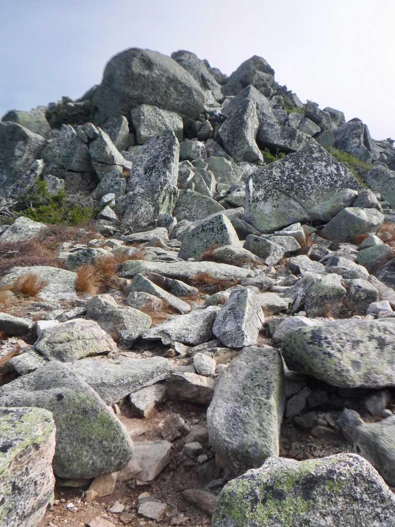Rocks on Mt. Katahdin