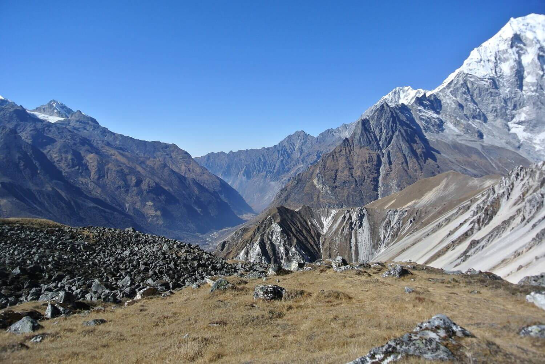 Langtang Tserko Trekking Mountains