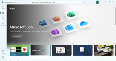 The Windows Store has been redesigned
