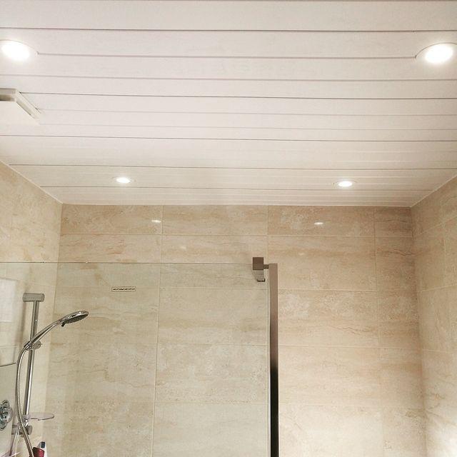 Bathroom lights, shower and fan installation