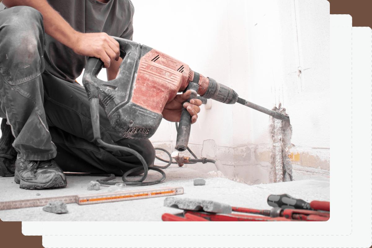 Tool drywall