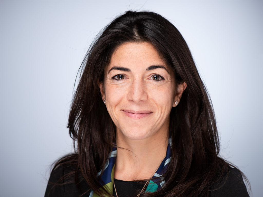 Photo of Dr. Lana Kandalaft of the Ludwig Institute for Cancer Research in Lausanne, Switzerland.