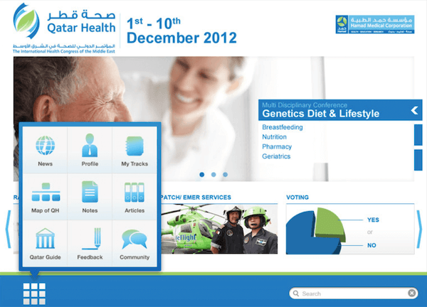 Preview of the project Quatar Health