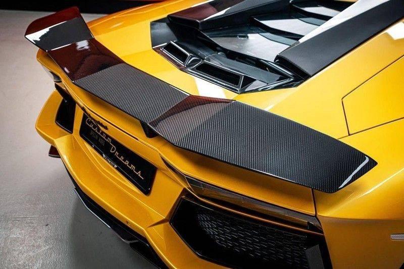 Lamborghini Aventador 6.5 V12 LP700-4, 700 PK, Full Mansory, Full Carbon, Keramiek, Full Service, Liftsysteem, BTW, 37DKM!! afbeelding 10