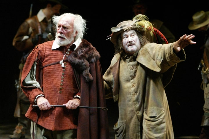 """Robert Thomson's lighting design for the production of """"King Lear"""" at the Stratford Festival / Lincoln Center Theater"""
