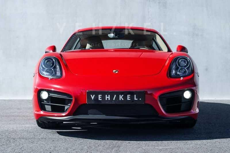 Porsche Cayman 2.7 // Handgeschakeld // Iconic Guards Red afbeelding 4