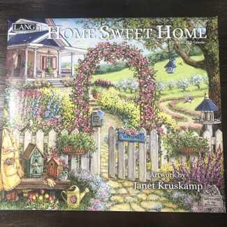 Lang Calendar 2021 Home Sweet home