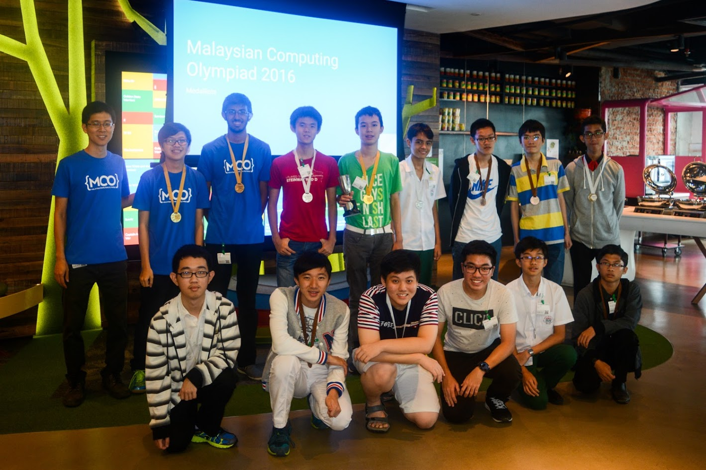 MCO 2016 Medalists