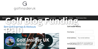 featured image thumbnail for post How I Built A Golf Website That Now Funds My PHD On Motor Control