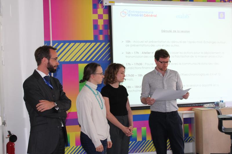 L'équipe EIG-mentor-DSI du MCC