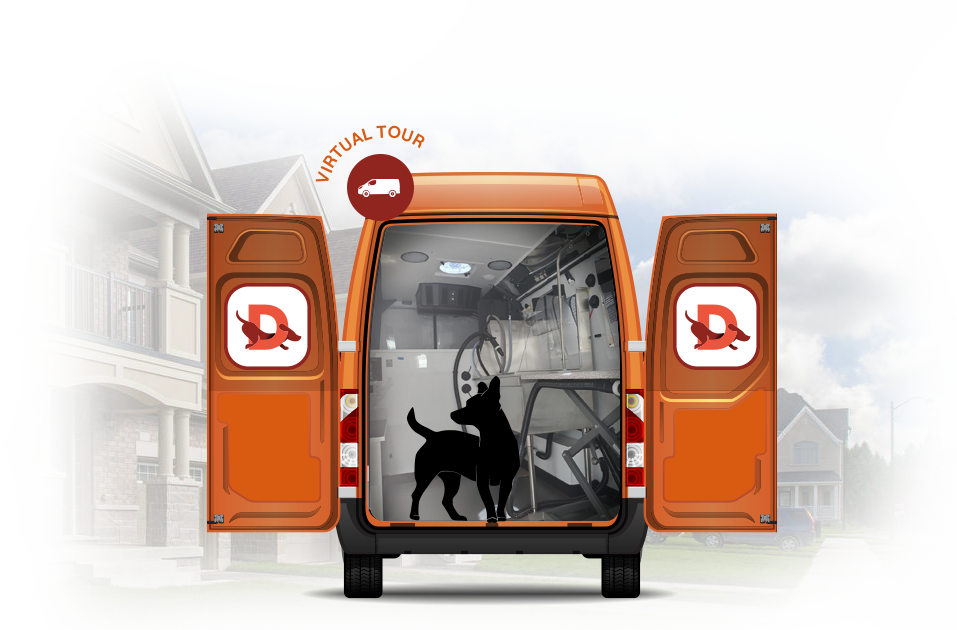 mobile dog grooming truck doggystyle