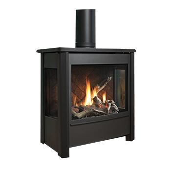 Poêle Marquis Fireplaces Vantage 3 faces