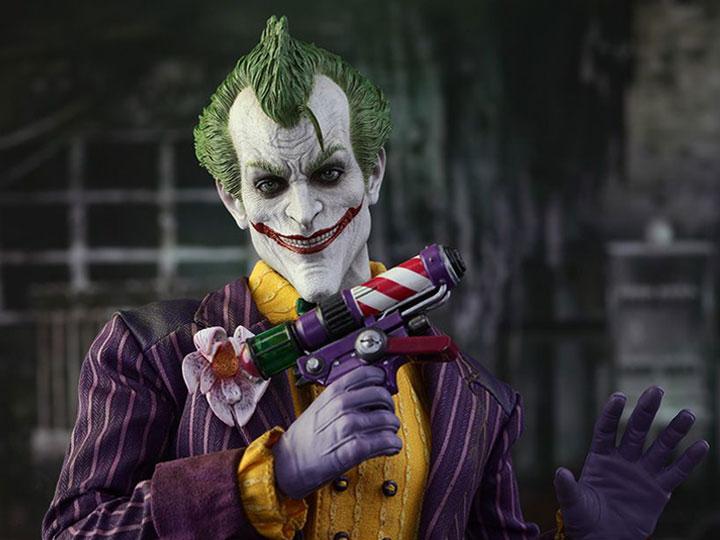 Hot Toys Batman: Arkham Asylum VGM27 The Joker 1/6th Scale Collectible Figure
