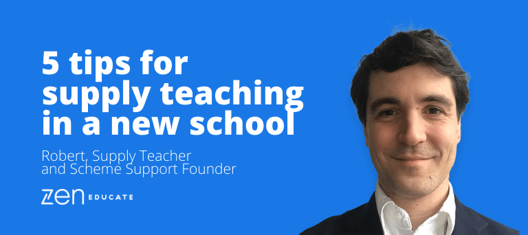 5 tips for supply teaching in a new school