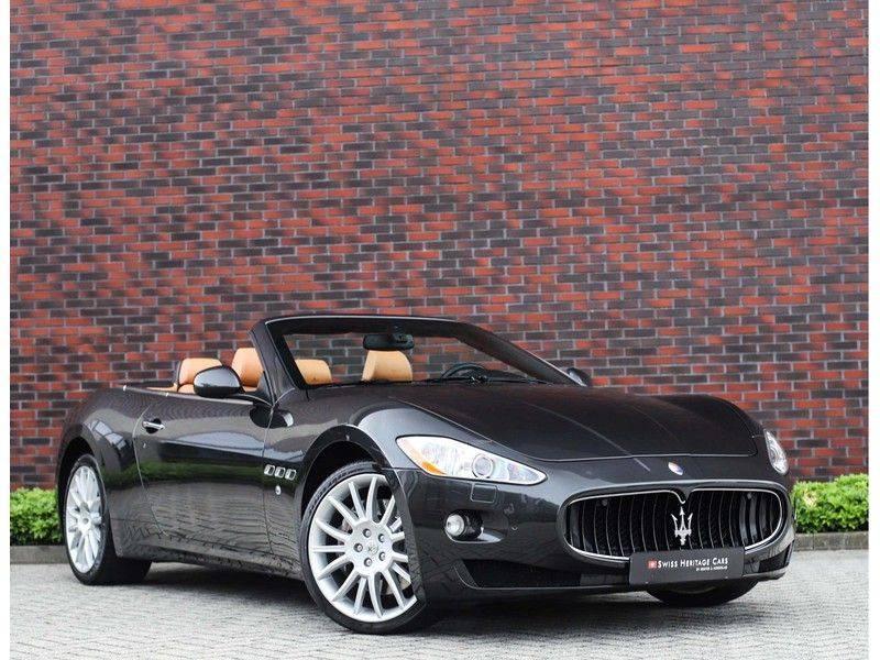 Maserati GranCabrio 4.7S *Grigio Maratta*Bose*Nieuwstaat!* afbeelding 1