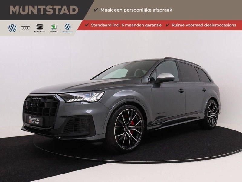 Audi Q7 4.0 TFSI SQ7 quattro 7p 507PK | S-Line | Pano.Dak | 360 Camera | B&O Sound | Keyless-Entry | S-Sportstoelen | Assistentie Tour-City-Parking | 7 Persoons afbeelding 1