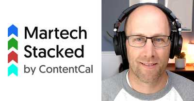 Martech Stacked Episode 22: The livestreaming production suite that can also *edit* your videos - with Brandon Olson from AWeber image