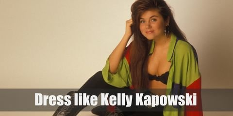 Dress like Kelly Kapowski from Saved by the Bell Costume