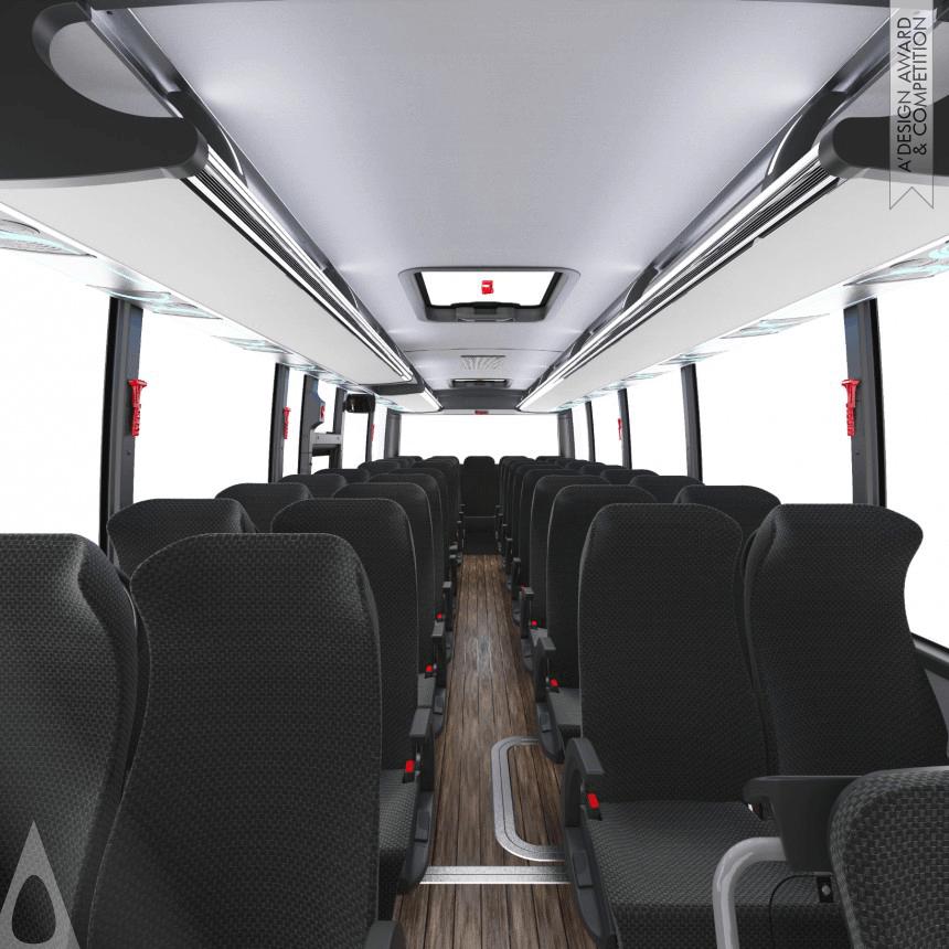 Isuzu Grand Toro - pohled do autobusu