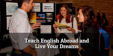 A surprisingly easy way to turn dreams into reality is to teach English abroad. We encourage you to dream big and then to take some action.