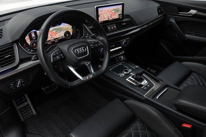 "Audi SQ5 3.0 TFSI 354pk Quattro Black Edition Panoramadak Luchtvering Valconaleder+Memory Carbon Matrix-Dynamisch Keyless Navi-High ACC DriveSelect  21""Performance 360Camera Pdc afbeelding 18"