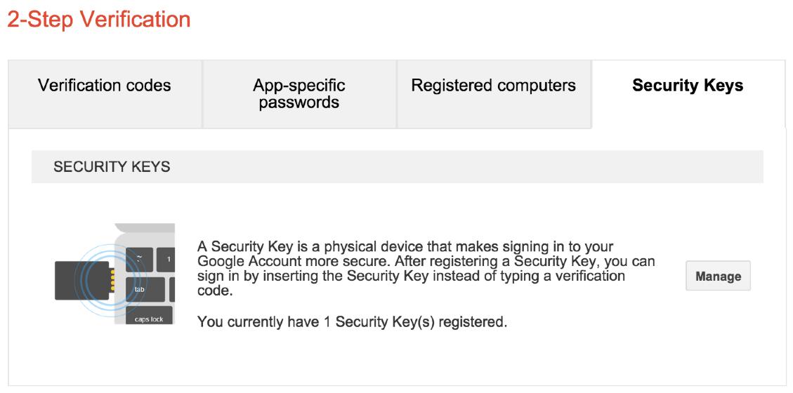 Google 2-step authentication