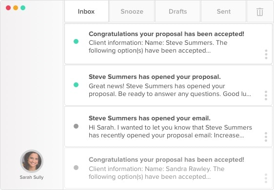 Proposal Notifications