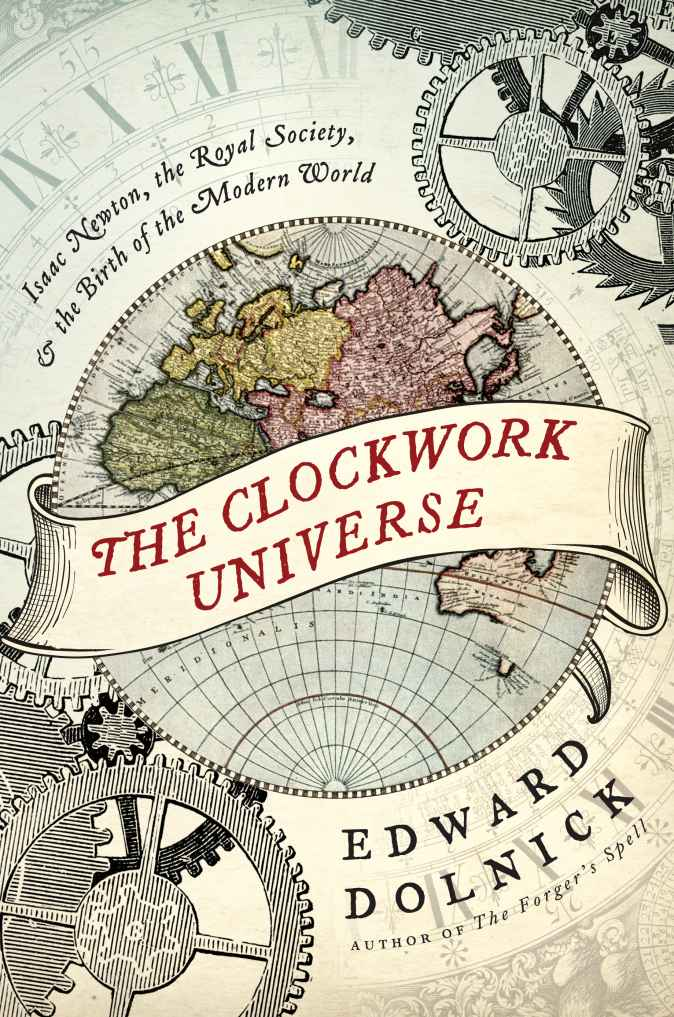 The cover of The Clockwork Universe