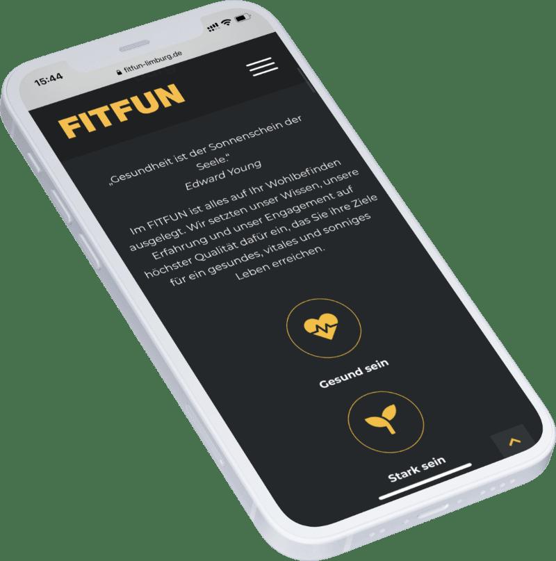 FITFUN Limburg Website
