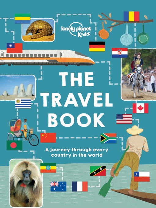 Lonely Planet book cover