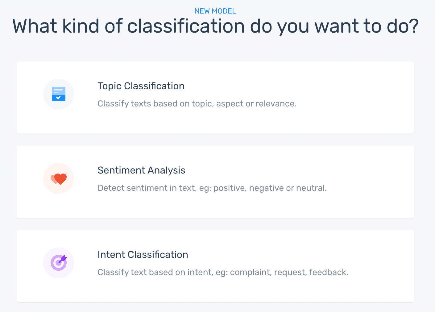 what kind of classification 1