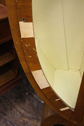interior cabinet damage