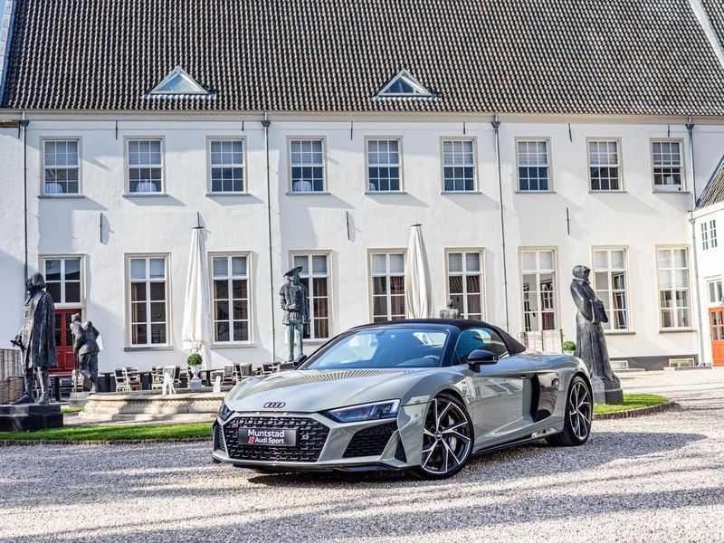 Audi R8 Spyder 5.2 performance quattro | 620PK | Magnetic Ride V10 | B&O sound | Carbon | Ceramic | Audi Exclusive | Garantie tot 07-2025* afbeelding 6