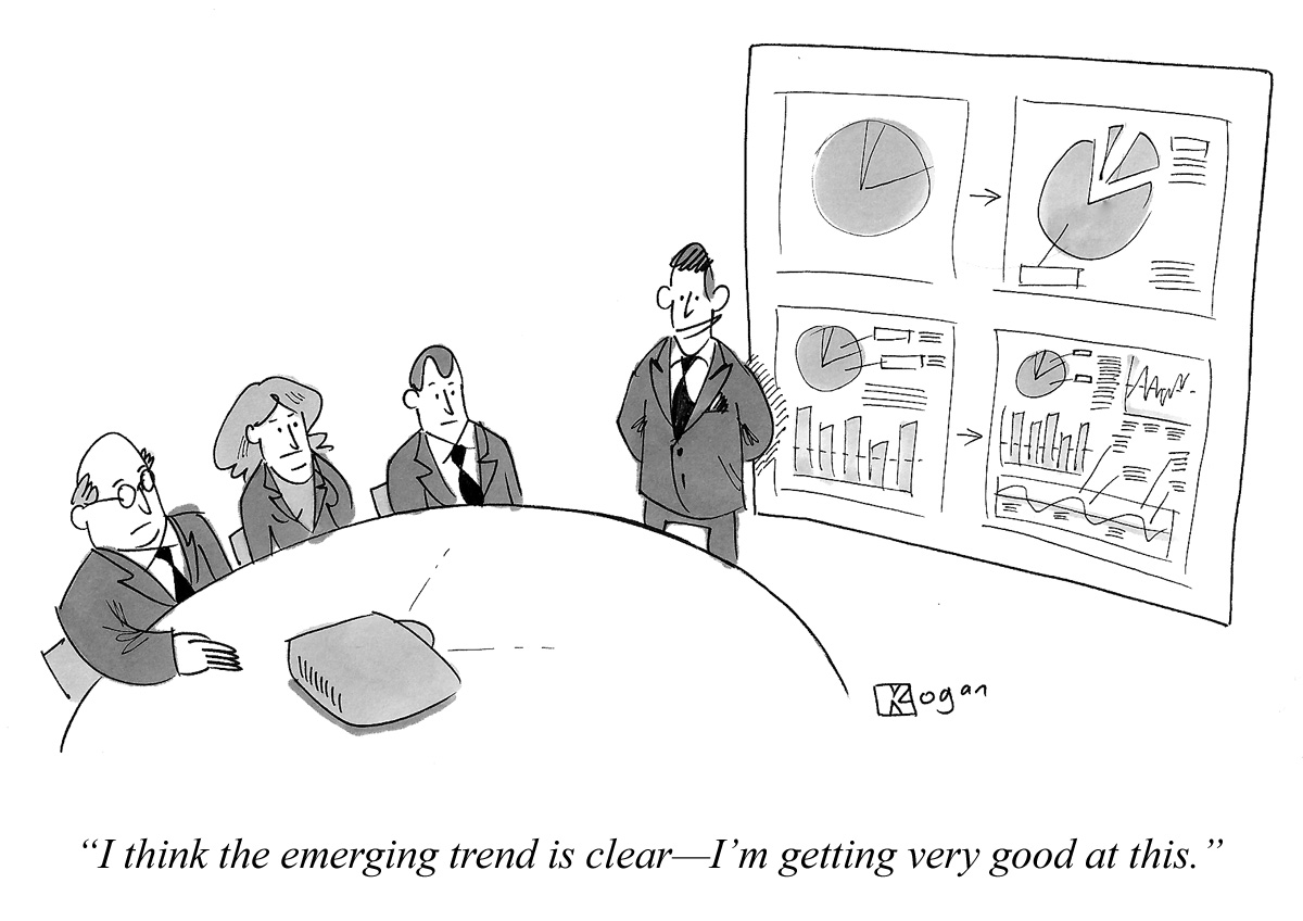 Cartoon about metrics.
