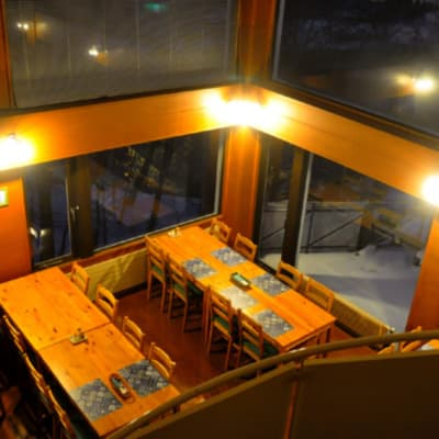 Enjoy the views from the dining area