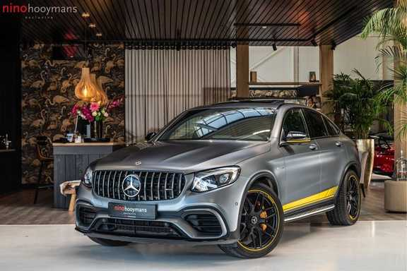 Mercedes-Benz GLC Coupé 63 S AMG 4MATIC+ | Edition 1 | Designo Mat | Ceramic | Panorama | Burmester | Head up-display