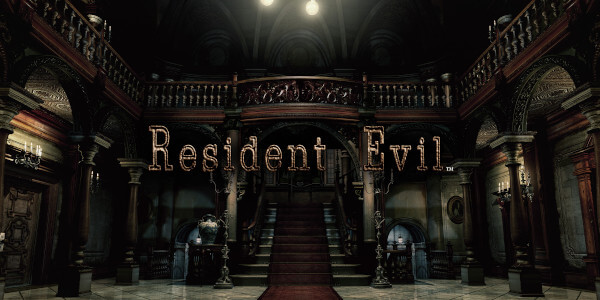 A promotional image for Resident Evil (2002) taken from the Nintendo eStore