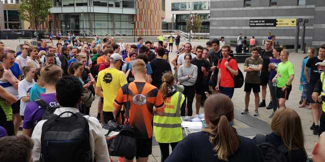 Leeds Dock Running Relay Participants