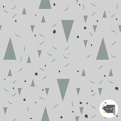 Abstract Geometric Simply Gray