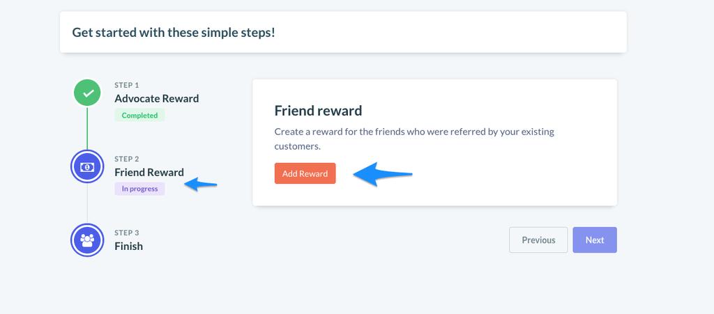 Friend reward