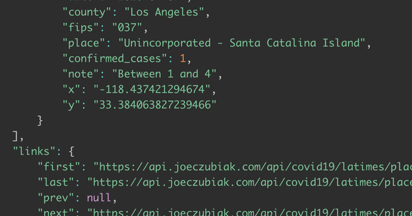 Featured image for post: Joe's APIs