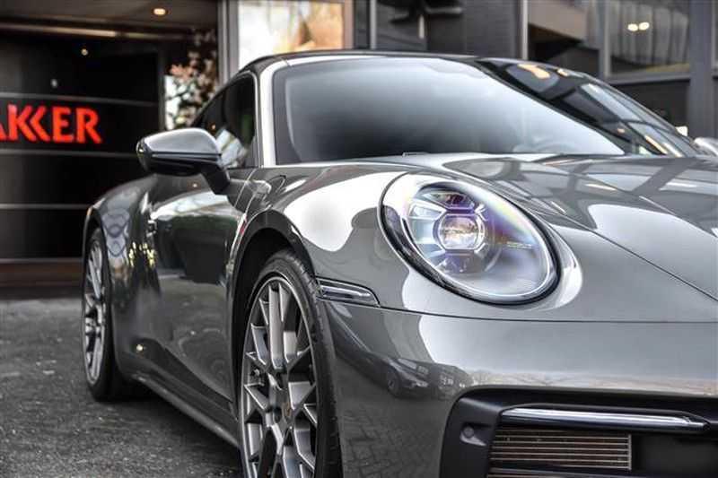 Porsche 911 4S SPORTDESIGN+LIFTSYST.+GLAS DAK+4WSTURING NP.219K afbeelding 14