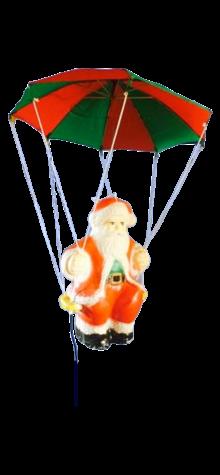 Santa On Parachute photo