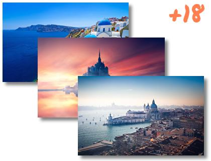 Panoramas of Europe theme pack