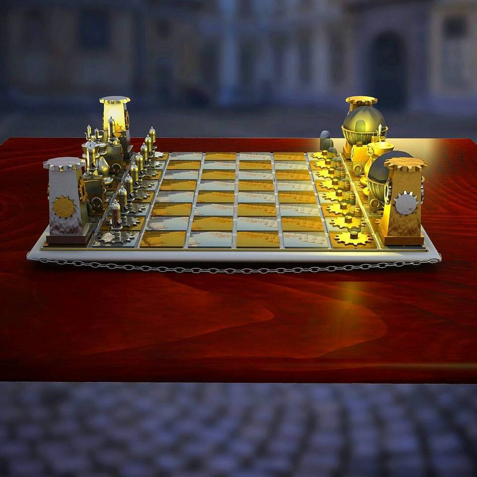 Chess - Side view