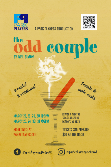 The Odd Couple - Tickets NOW ON SALE!