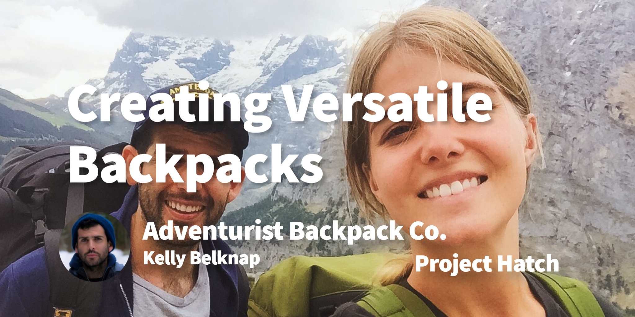 Adventurist Backpack Co. Kelly Belknap